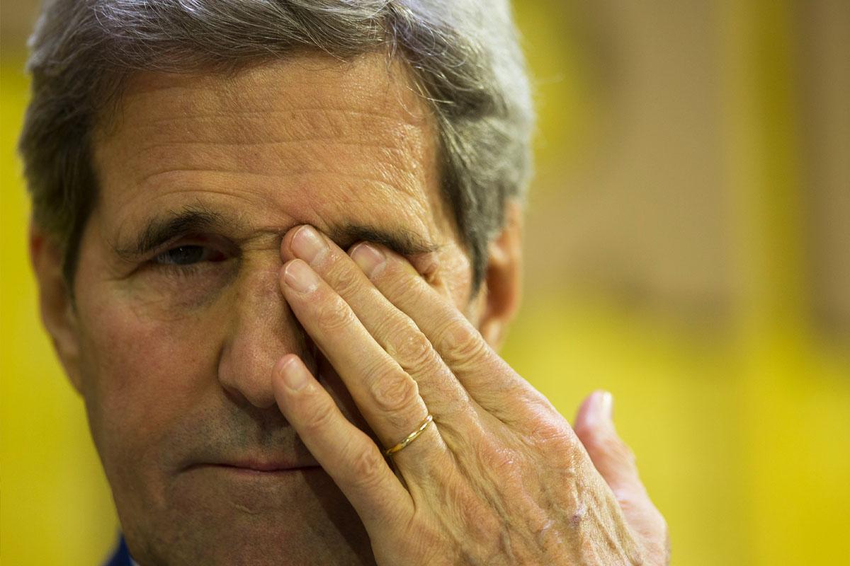 John Kerry, secretario de Estado de Estados Unidos. (Foto: AFP)