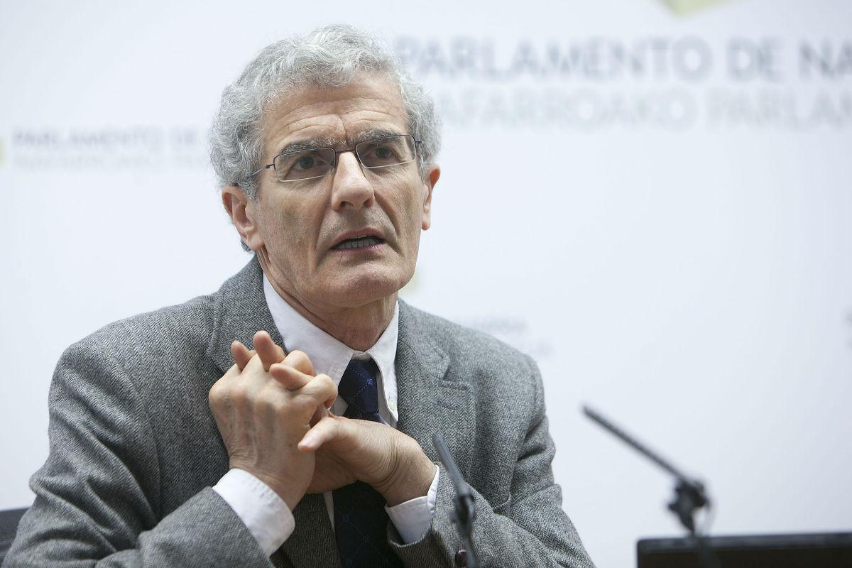 José Manuel Freire (Foto: Parlamento de Navarra).