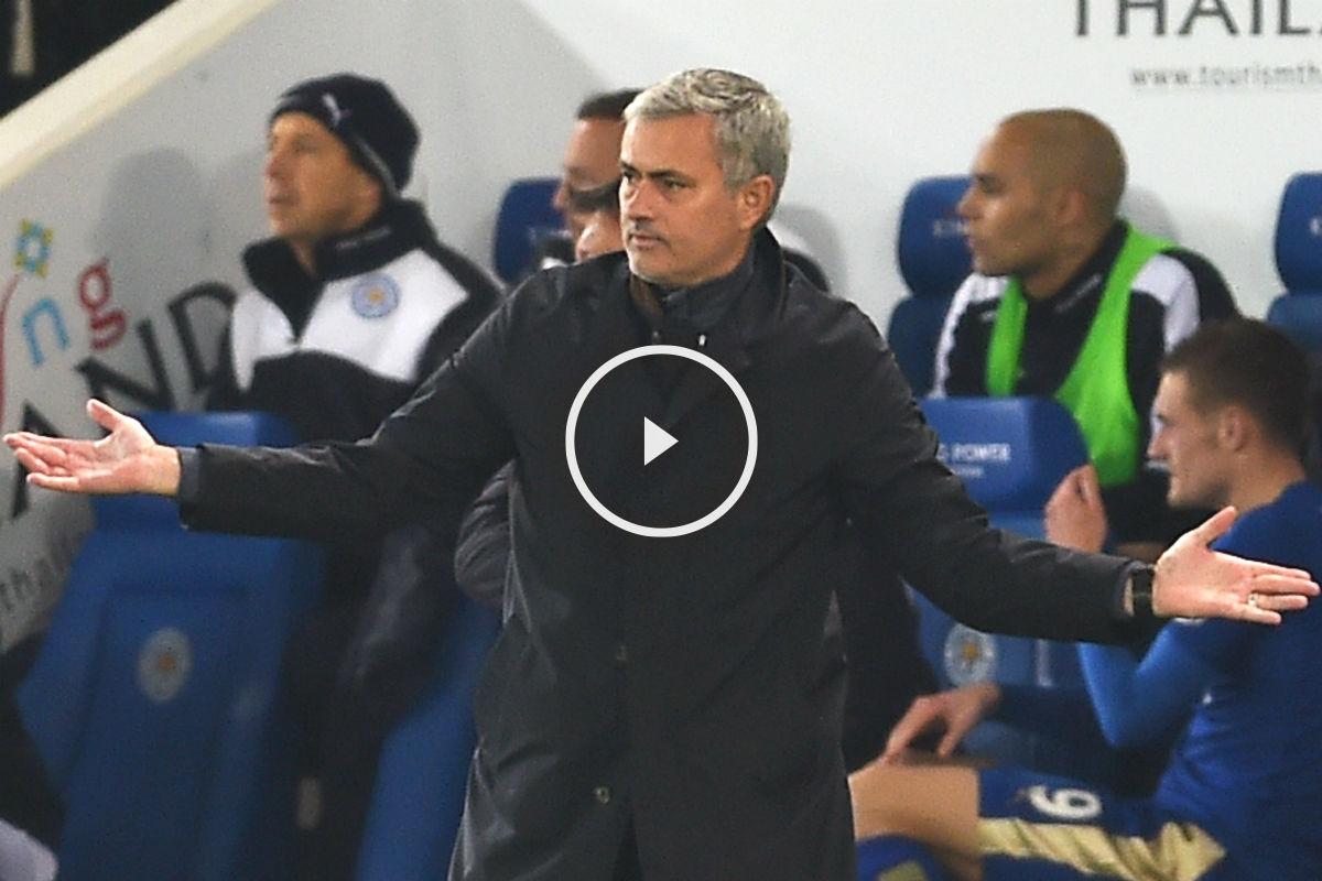 José Mourinho está contra las cuerdas (Getty)
