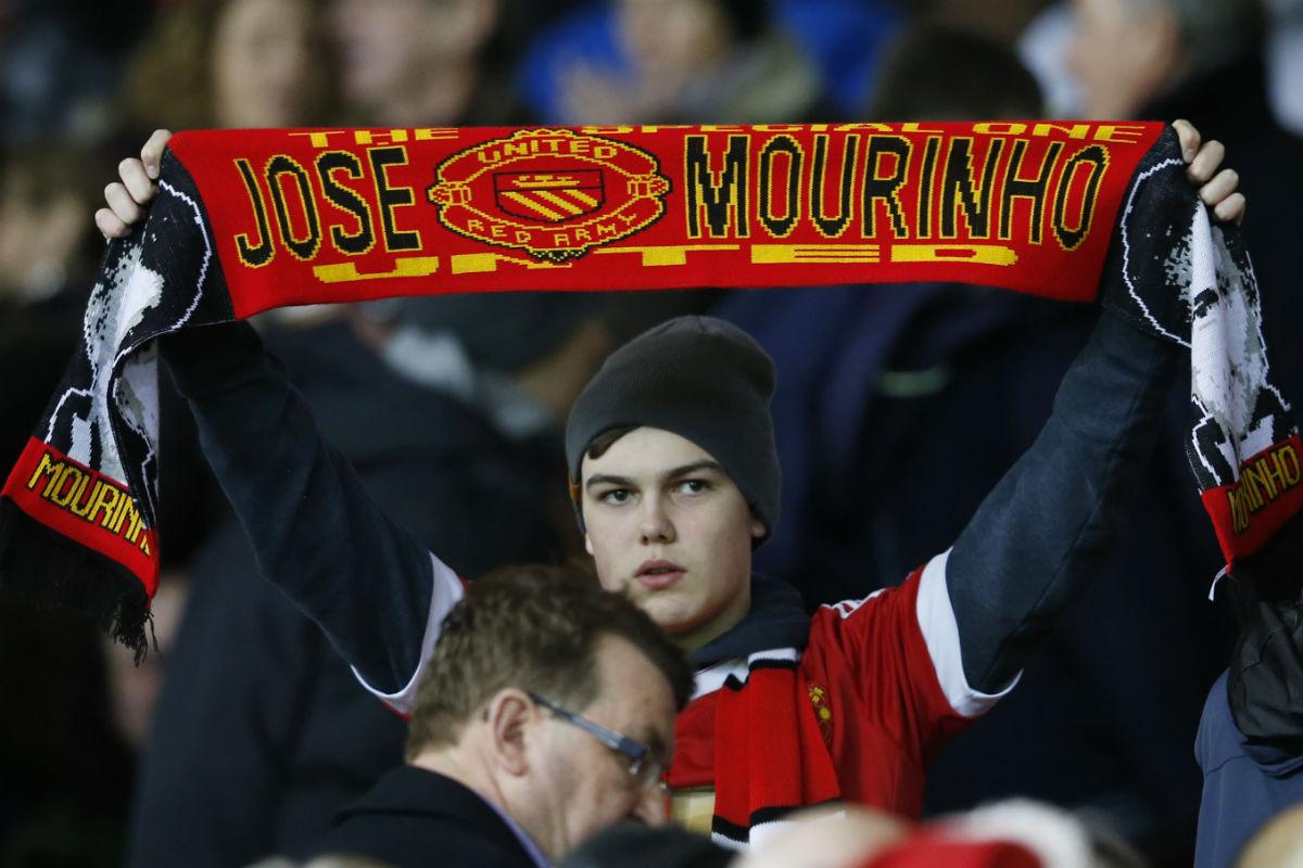 Old Trafford ya espera a José Mourinho. (Reuters)