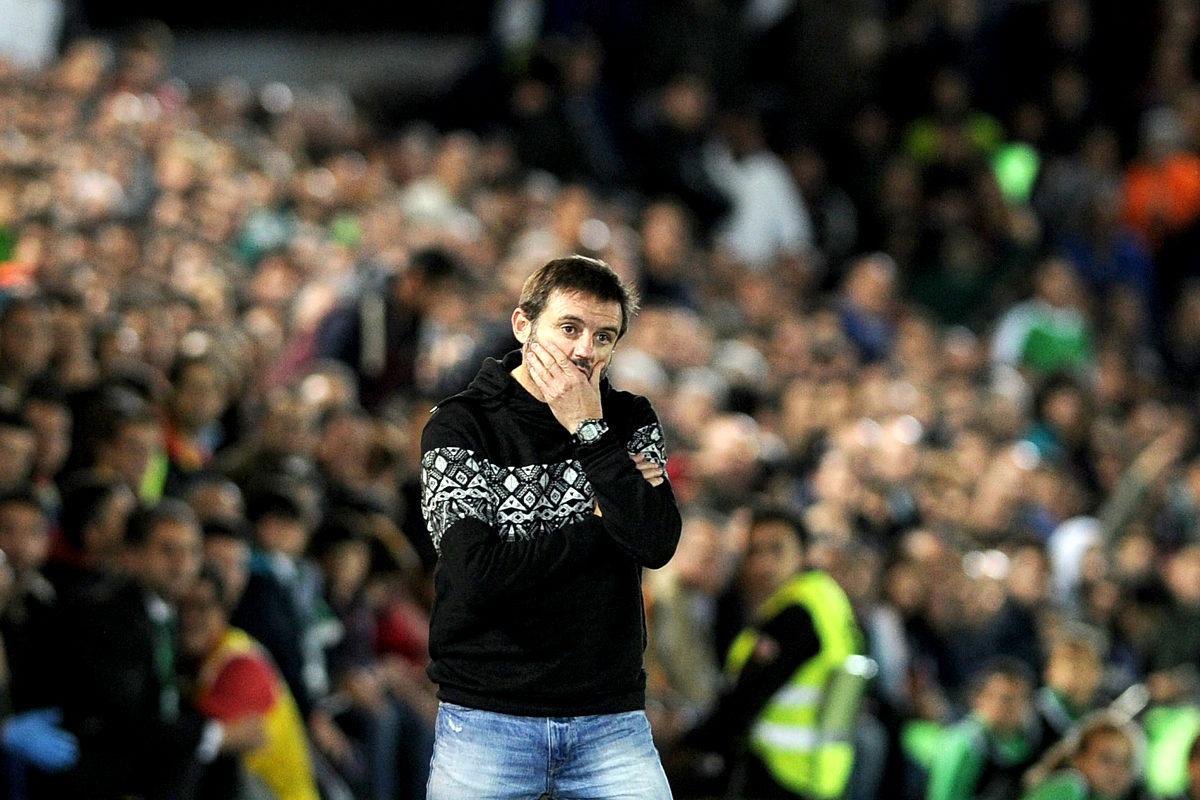 Julio Cobos, entrenador del Villanovense (AFP)