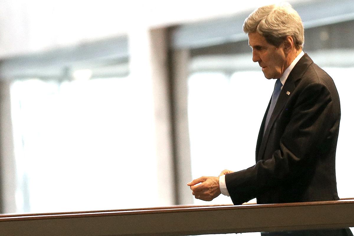 El jefe de la diplomacia de EEUU, John Kerry. ( Foto: Getty)