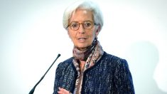 Christine Lagarde, presidenta del Banco Central Europeo (Foto: AFP).