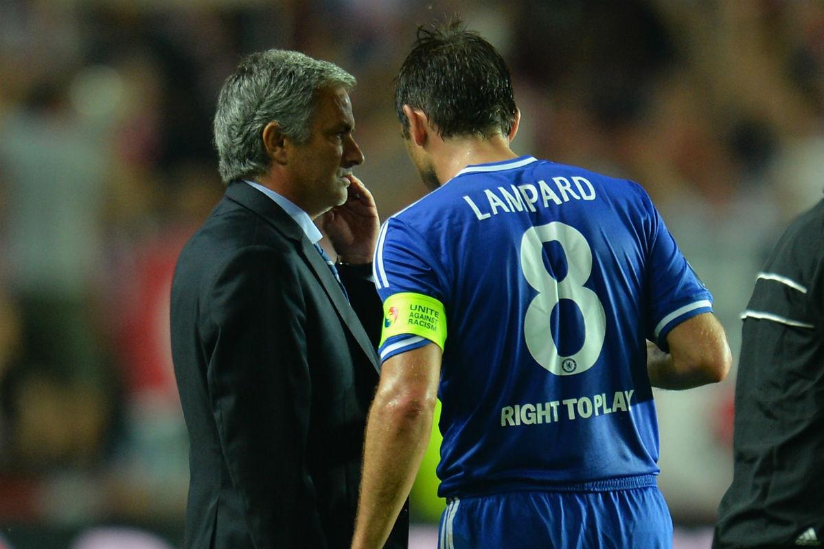 José Mourinho y Lampard coincidieron en el Chelsea (Getty)
