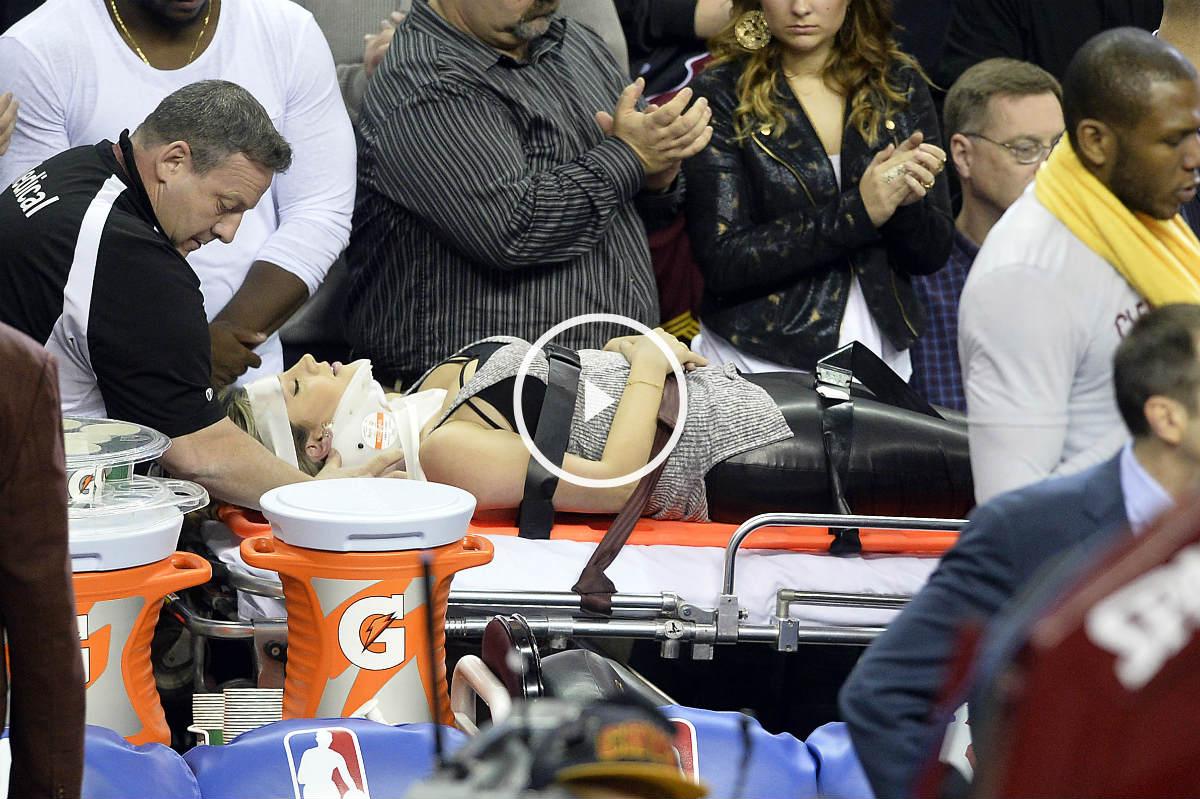 Lebron arrolló a la mujer de Jason Day (Reuters)