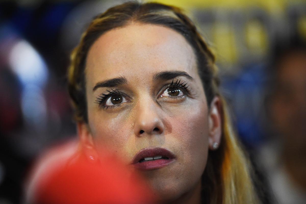 Lilian Tintori. (Foto: AFP)