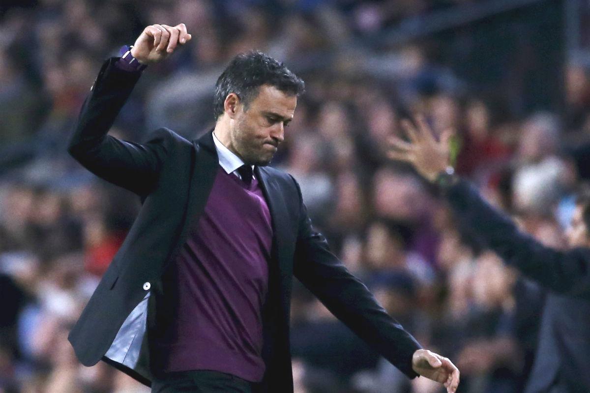 Luis Enrique, muy enfadado por el empate (Reuters)