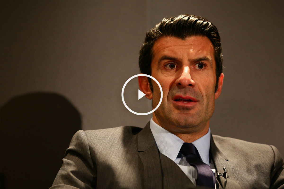 Luis Figo repasó la actualidad del Real Madrid. (Getty)