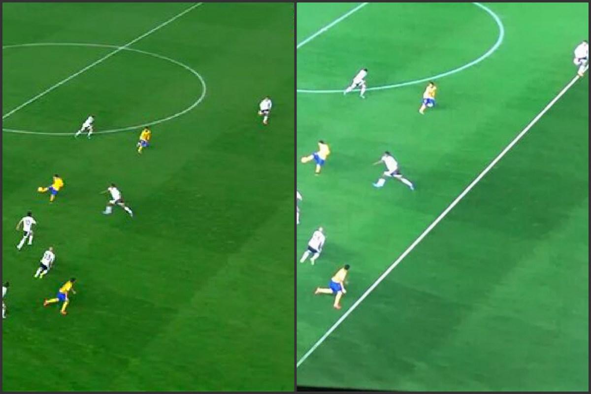 Tve emiti una imagen manipulada del gol en fuera de juego for En fuera de juego