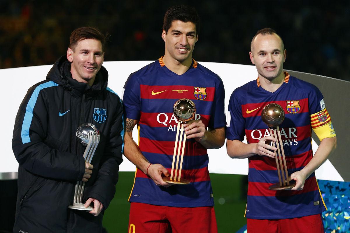 Luis Suárez, mejor jugador del Mundialito (Reuters)