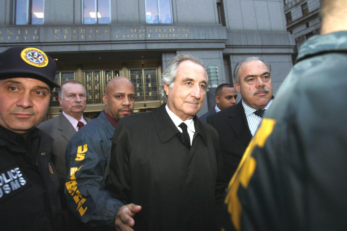 Bernard Madoff, el discípulo de Ponzi más conocido en el mundo (Foto: GETTY).