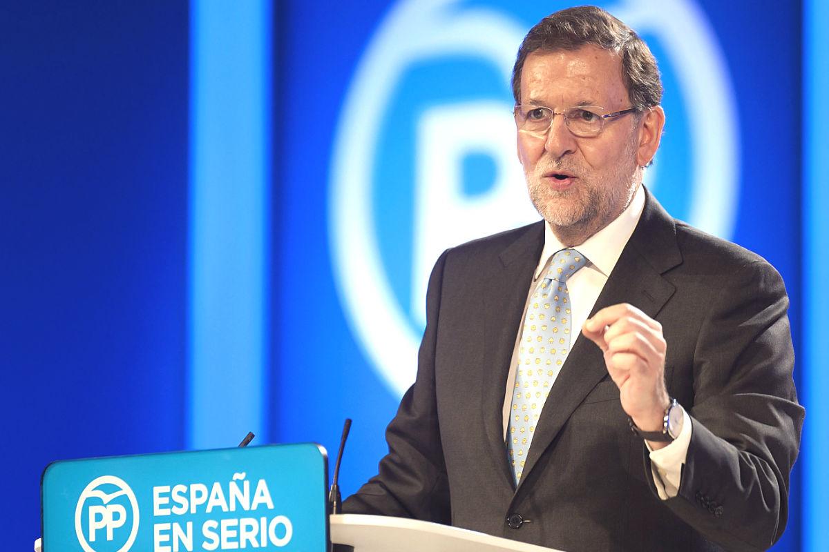 El presidente del PP, Mariano Rajoy (Foto: Efe)
