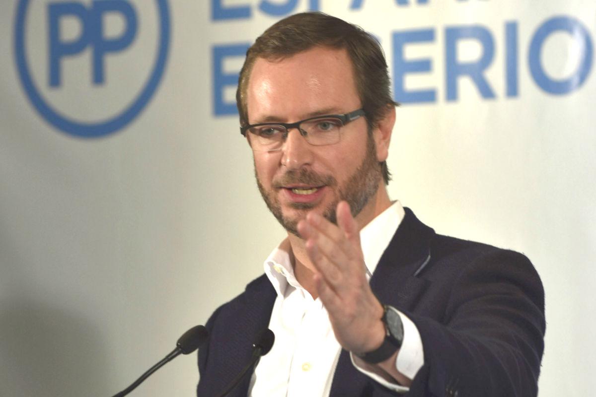 El vicesecretario sectorial del PP y candidato al Congreso por Álava, Javier Maroto