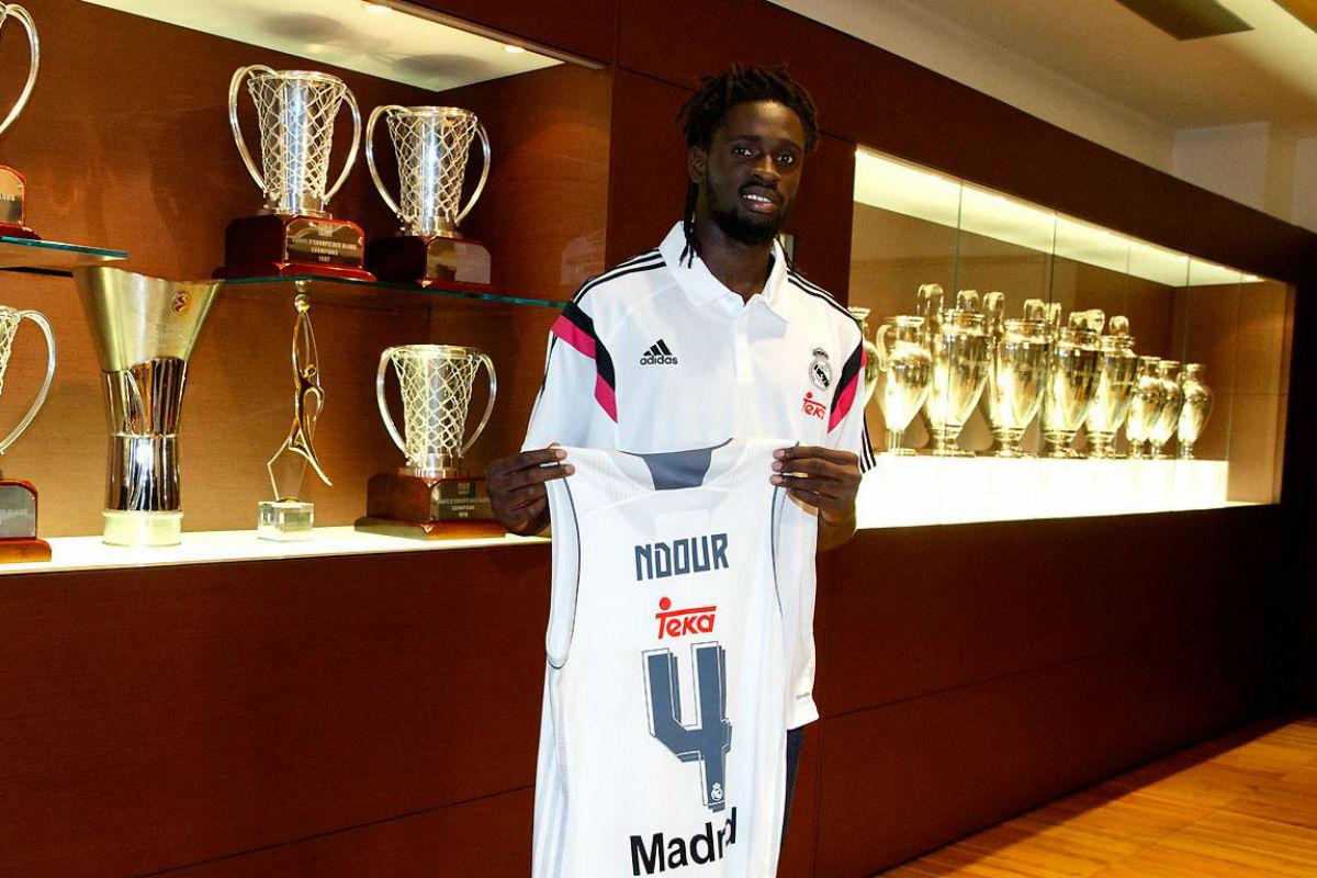 Ndour, nuevo jugador del Real Madrid (Imagen: realmadrid.com)