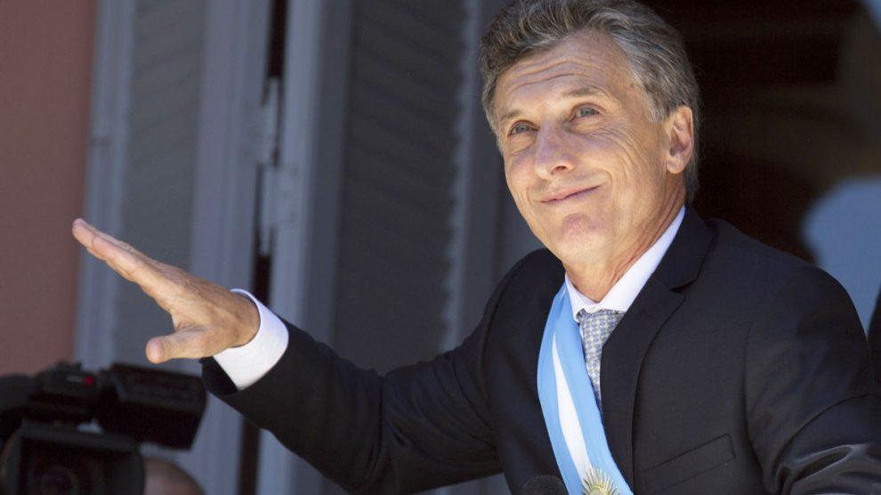 Mauricio Macri, presidente de Argentina. (Foto: AFP)