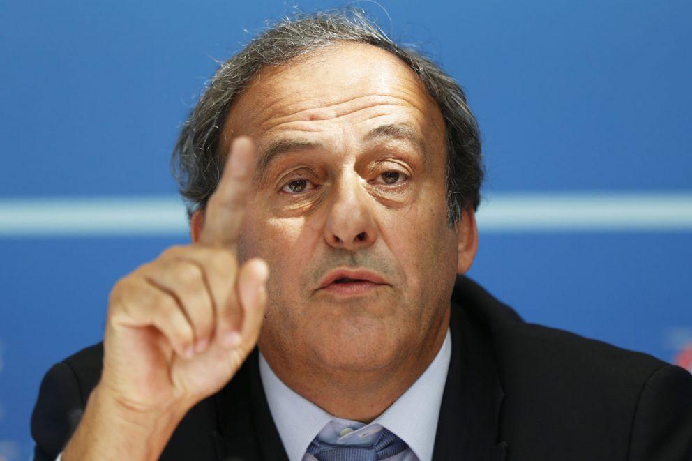Platini no entiende el fichaje de Cristiano por el Madrid.