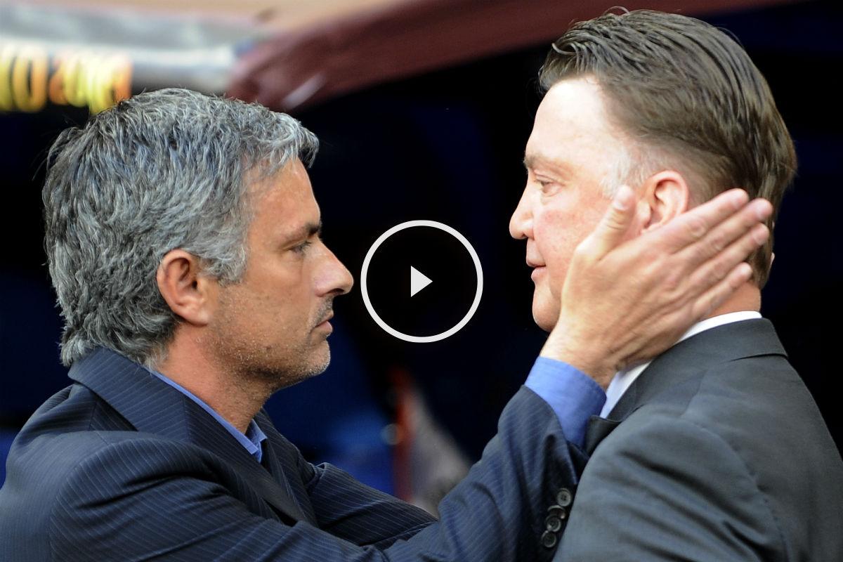 Mourinho podría sustituir a Van Gaal. (AFP)