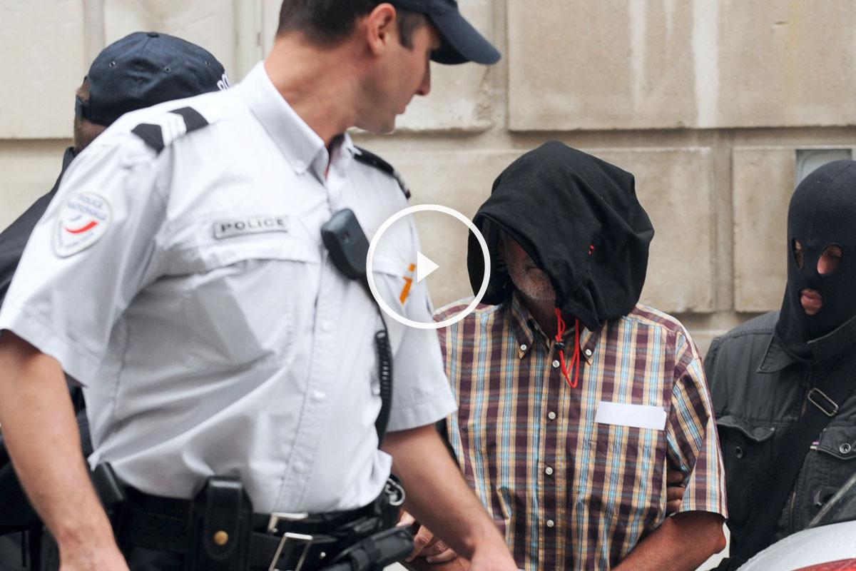 Detención de Juan María Múgica Dorronsoro. (Foto: AFP)