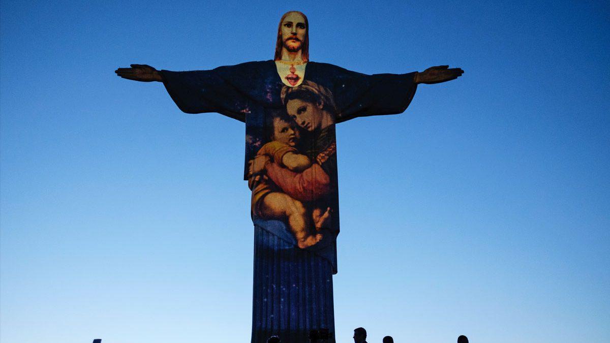 Navidad en Río de Janeiro. (Foto: AFP)