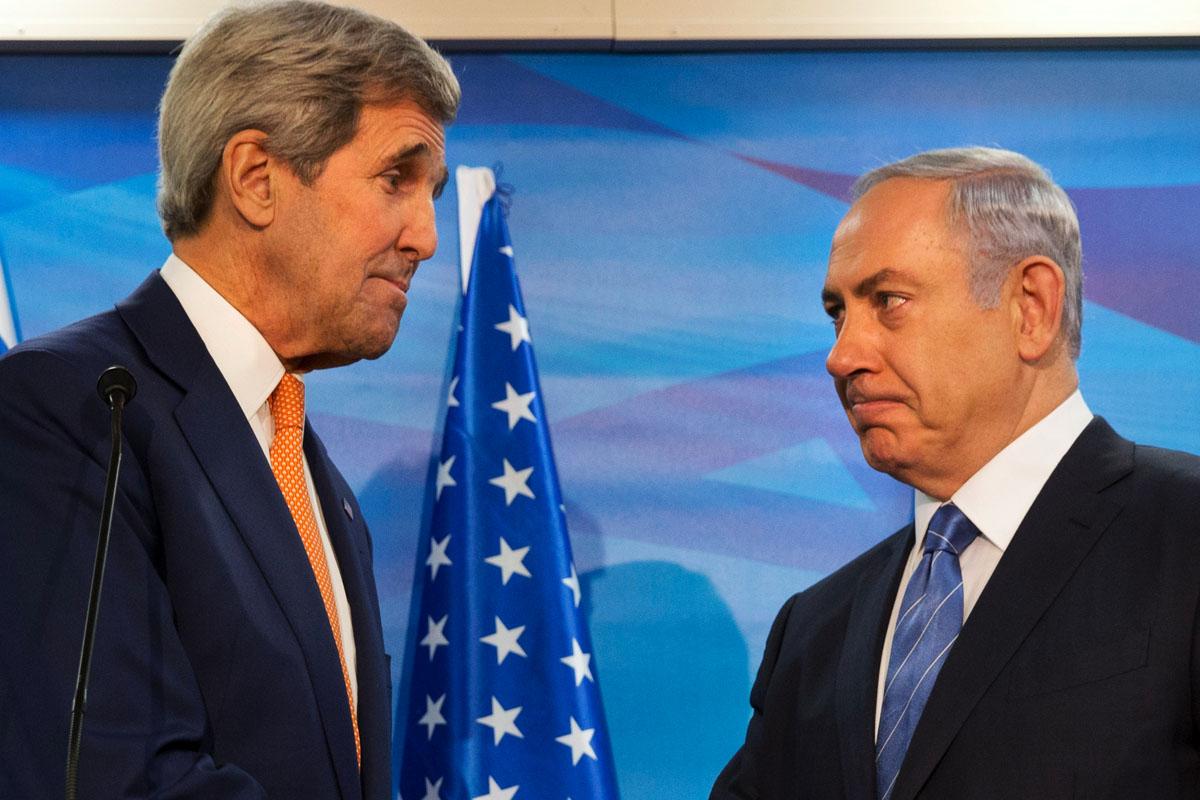 Kerry y Netanyahu en un reciente encuentro. (Foto: AFP)