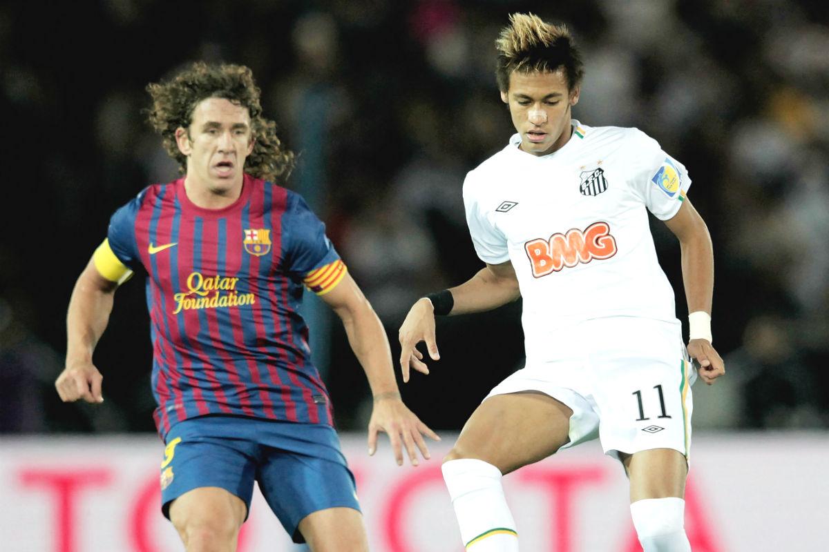 neymar-barcelona-santos