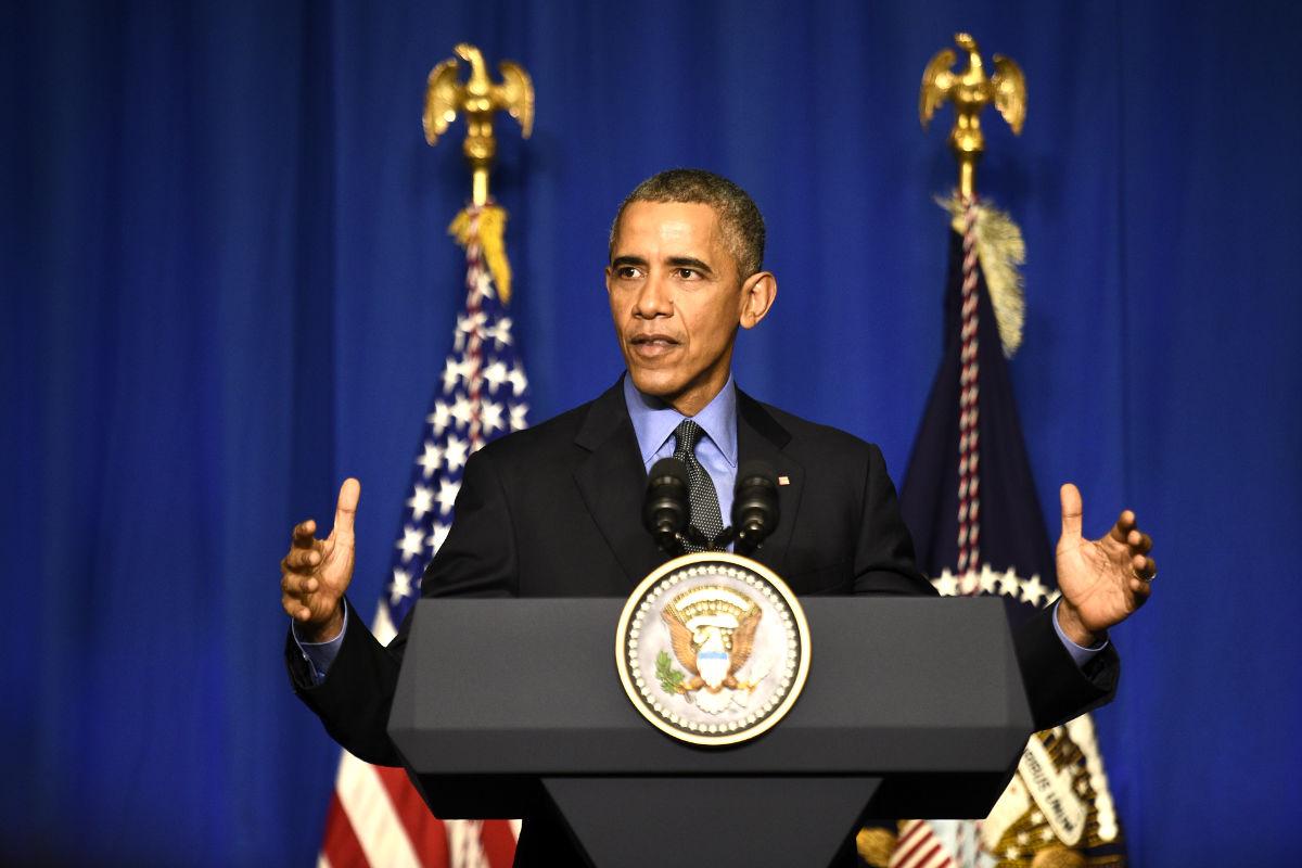Barack Obama en un reciente acto en París (Foto: AFP).