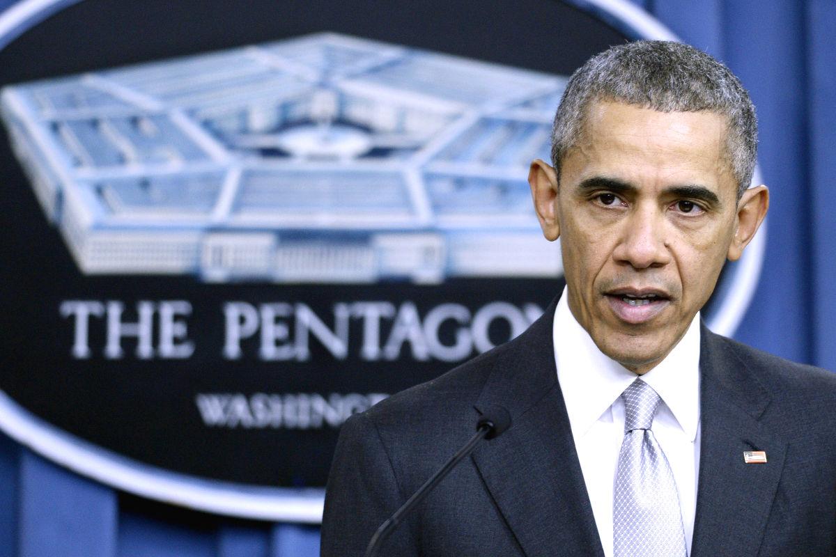 El presidente de EEUU, Barack Obama, durante su discurso en el Pentágono el pasado lunes (Foto: Getty).