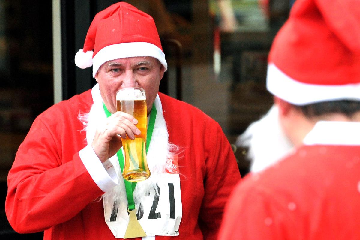 La cerveza de la Navidad es una tradición en toda Europa. (Foto: AFP)