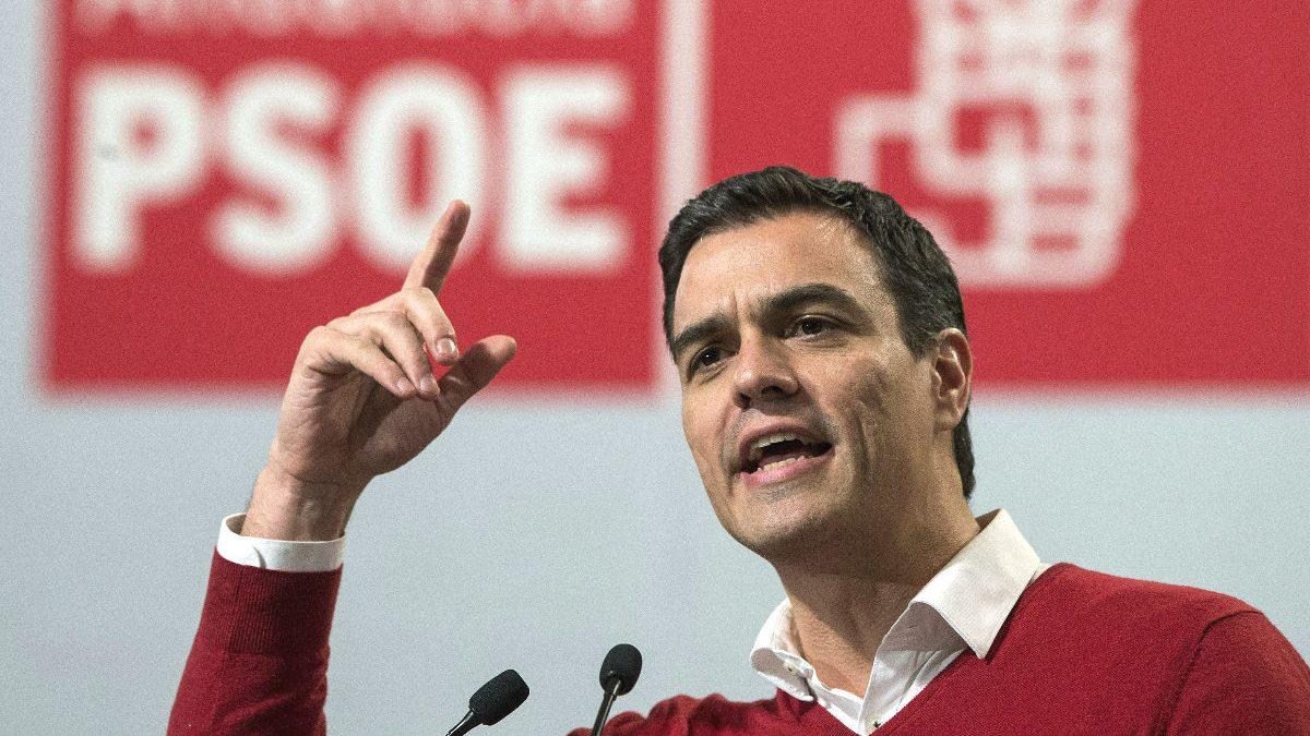 El candidato a la presidencia del Gobierno por el PSOE, Pedro Sánchez (Foto: Efe)
