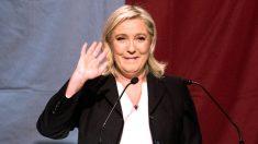 La presidenta del Frente Nacional, Marine Le Pen (Foto: APF).