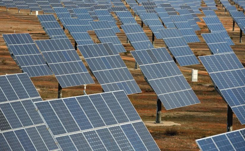 Instalación fotovoltaica en el sur de España (Foto: GETTY).