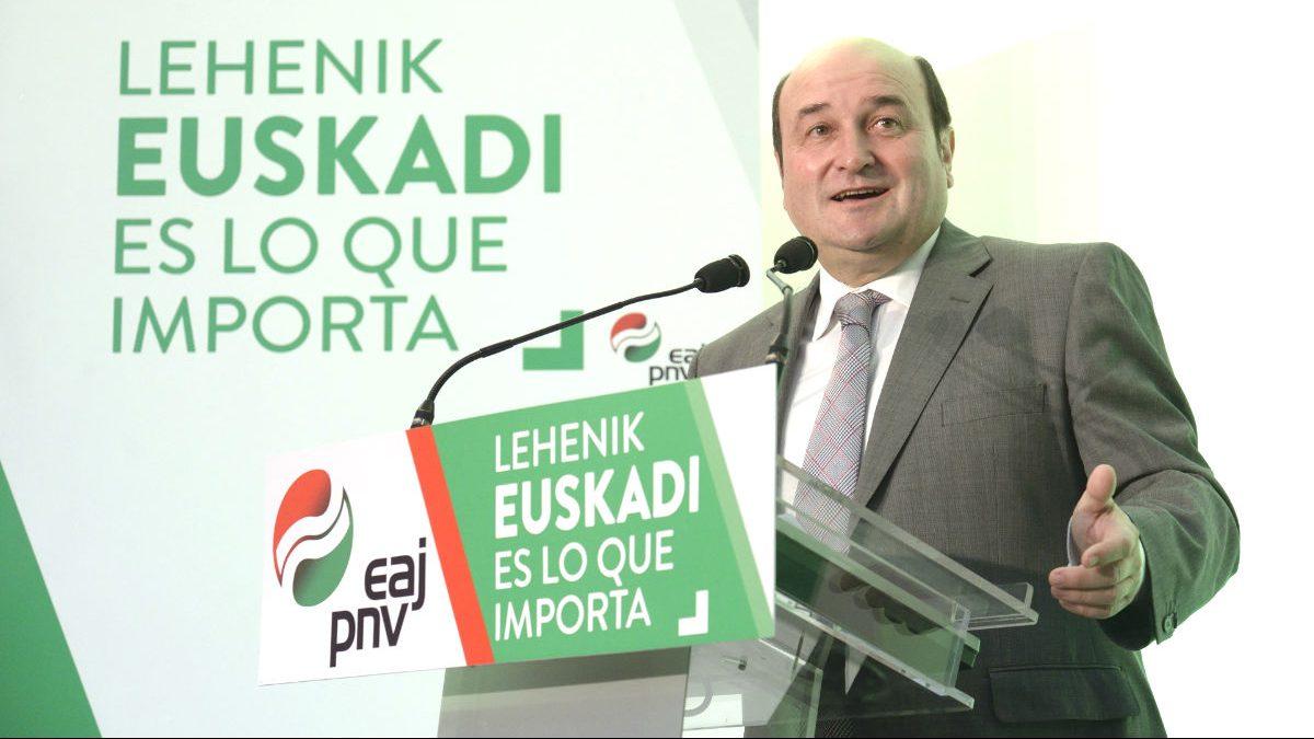 El presidente del PNV, Andoni Ortuzar (Foto: Efe)