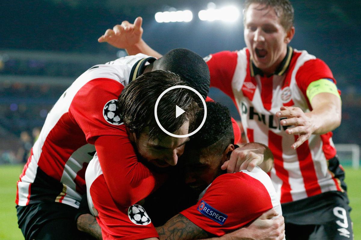 El PSV se medirá al Atlético en los octavos de la Champions League (Getty)