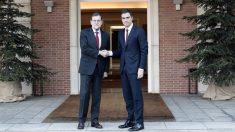 Mariano Rajoy y Pedro Sánche. (Foto: AFP)