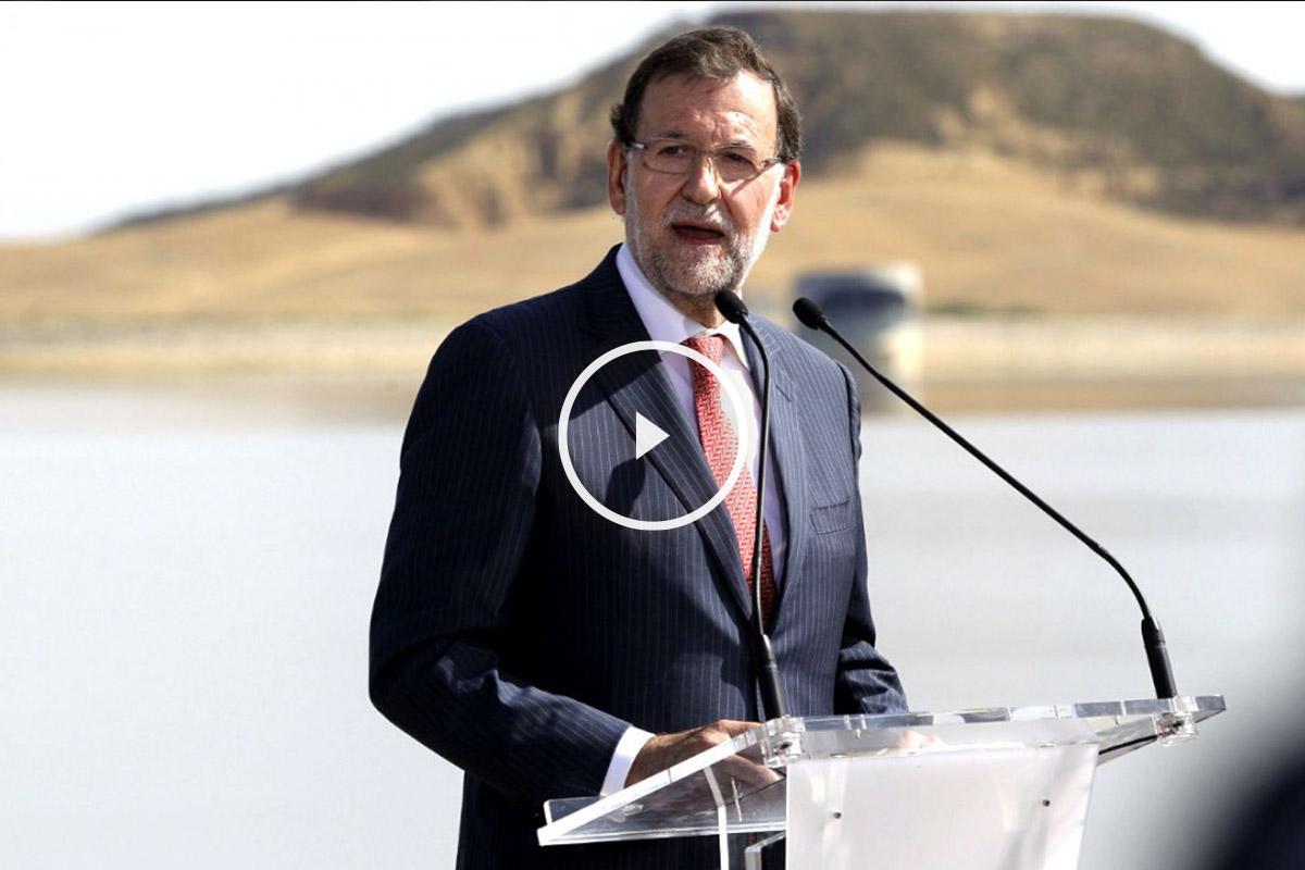 Mariano Rajoy dando un discurso. (Foto: EFE)