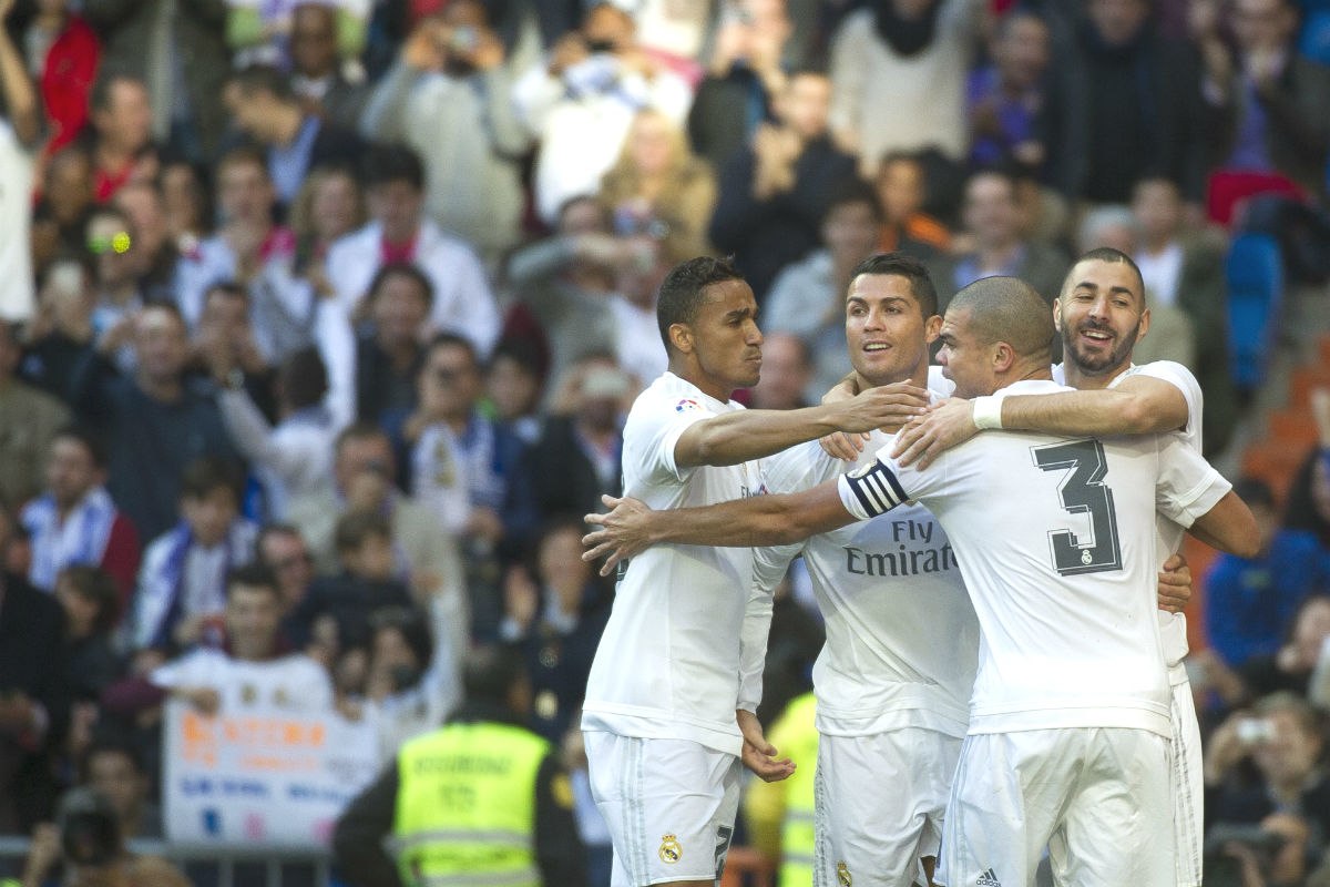 Getafe Real Madrid: El Madrid Abusa Del Getafe En Medio Partido