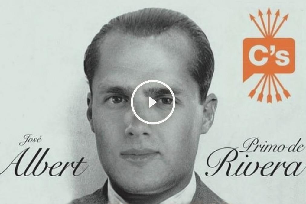Canción del rapero Pablo Hasel en la que acusa a Albert Rivera de cocainómano y le compara con el fundador de la Falange