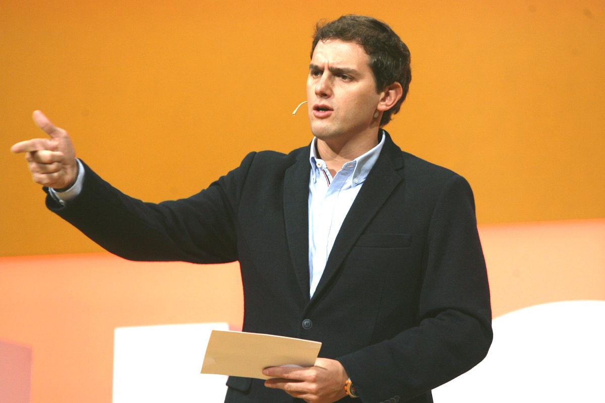 El candidato de Ciudadanos a la presidencia del Gobierno, Albert Rivera (Foto: Efe)