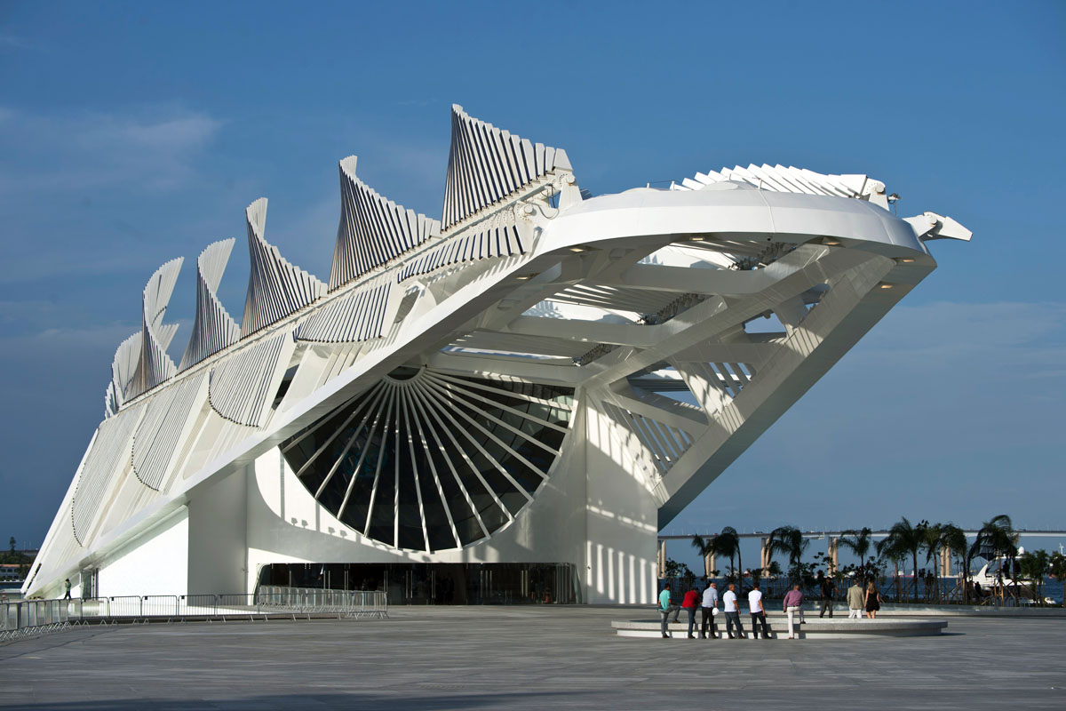 El Museo del Mañana, nuevo reclamo de Río. (Foto: AFP)