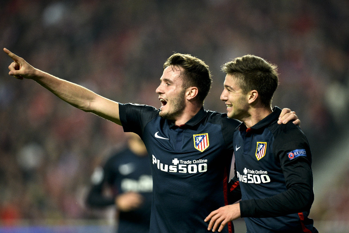 Saúl y Vietto dieron el triunfo al Atleti con sus goles (AFP)