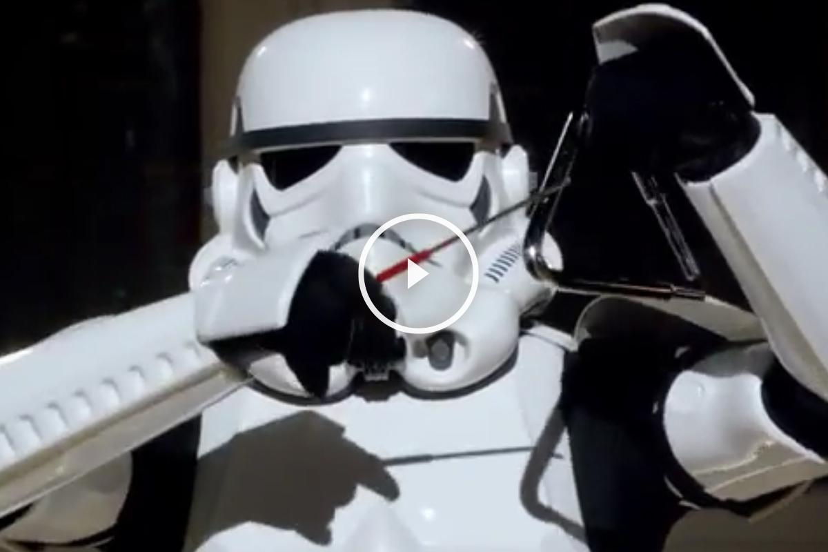 Los Soldados Imperiales te desean feliz navidad