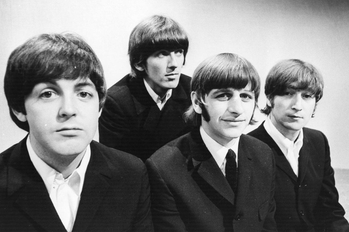 La banda, fotografiada en los estudios de la BBC en 1966. (Foto: AFP)