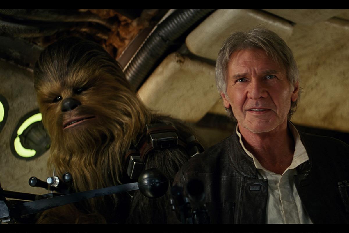 Harrison Ford vuelve a la piel de Han Solo 30 años después de la primera vez.