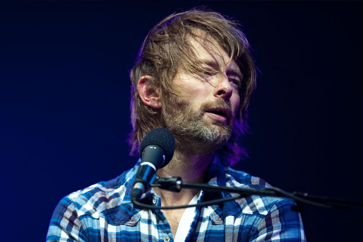 Thom Yorke, cantante y compositor de Radiohead. (Foto: AFP)