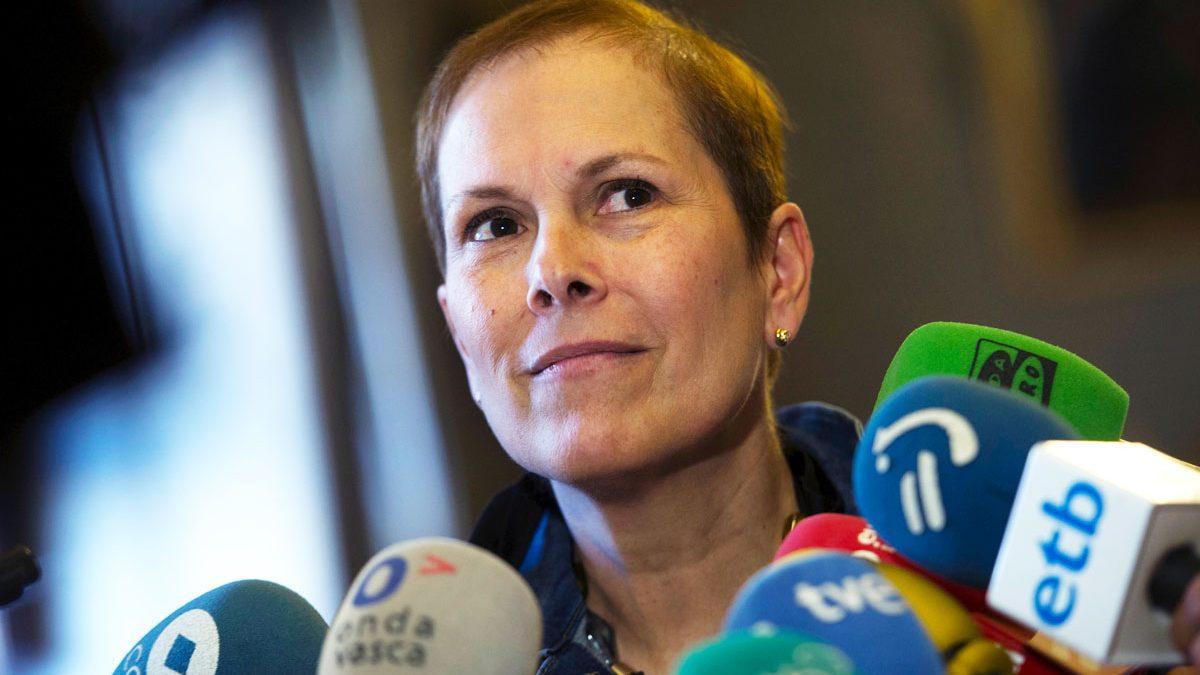 Uxue Barcos, presidenta de Navarra. (Foto: EFE)