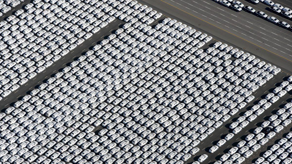 Miles de vehículos Volkswagen (Foto: Ingo Wagner/DPA/AFP)