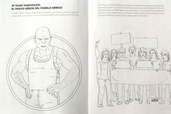 Varoufakis, en el libro 'Colorama'.
