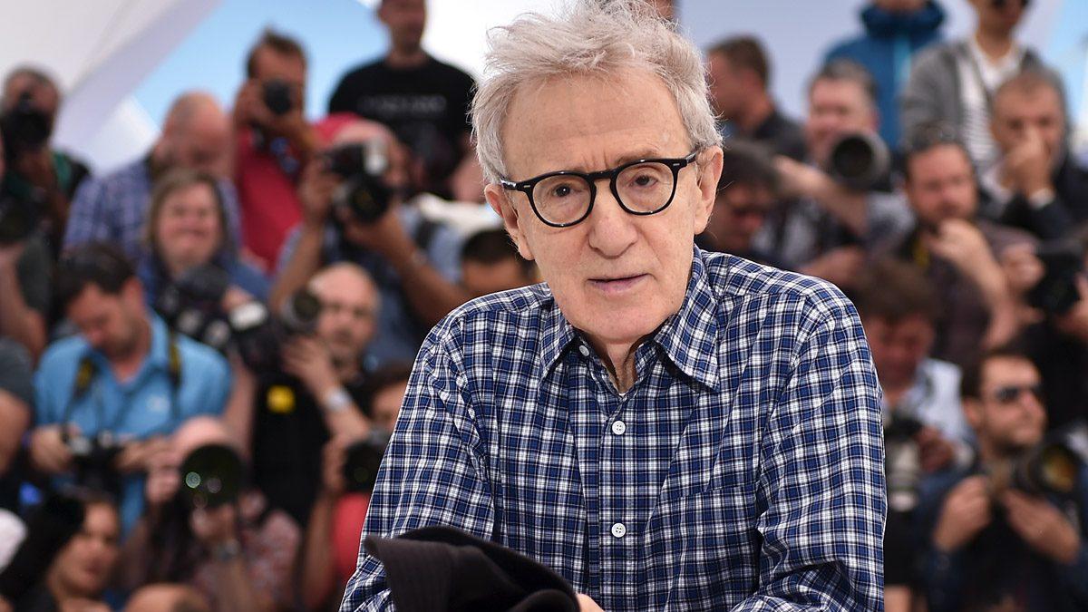 Woody Allen en Cannes. (Foto: AFP)