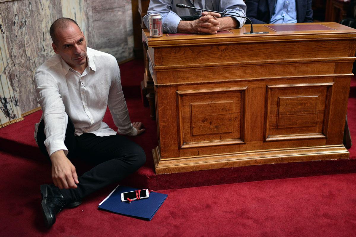 Yanis Varoufakis, ex ministro de Finanzas de Alexis Tsipras y gran protagonista del rifirrafe con la Troika. (Foto: Louisa Gouliamaki/AFM)