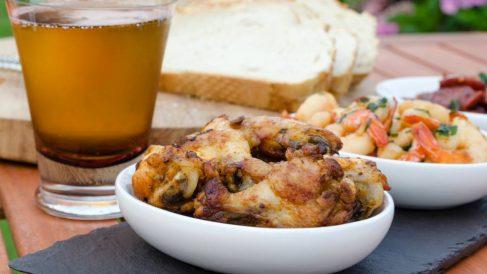 Receta de Pollo a la cerveza con tomates semisecos